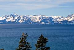 lake tahoe zimy. Zdjęcia Royalty Free