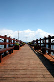 Lake- Tahoedock Lizenzfreies Stockbild