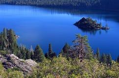 Lake- Tahoesmaragd-Schacht Stockfoto