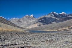 Lake in Tajikistan Stock Images