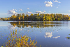 Lake in Tampere Royalty Free Stock Photography