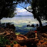 Lake Tana, Bahir Dar Royalty Free Stock Photography
