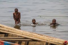 Lake tanganyika in burundi Stock Photography
