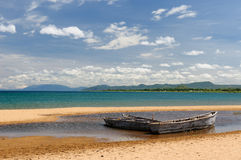 Lake Tanganyika, Tanzania. Tanzania, Tanganyika lake  is the Worlds longest and second deepest fresh water lake, it is also one of the oldest lakes on the planet Royalty Free Stock Photos