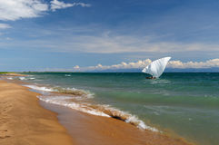 Lake Tanganyika, Tanzania Royalty Free Stock Photography