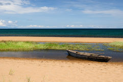 Lake Tanganyika, Tanzania Royalty Free Stock Photos