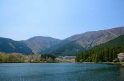 Lake Tanuki in Fujinomiya, Shizuoka, Japan Stock Images