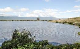 Lake in Tanzania Royalty Free Stock Photography