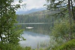 Lake in Tarta mountains Stock Photography