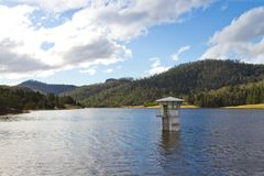 Lake in Tasmania Stock Photography