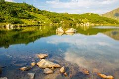 Lake in tatra mountains Stock Photos