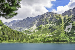 Lake in Tatra mountains. Stock Photos