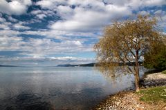 Lake Taupo Royalty Free Stock Photography