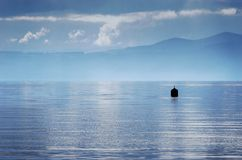 Lake Taupo Buoy Royalty Free Stock Photos