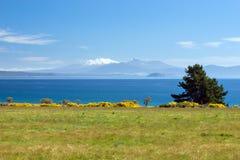 Lake Taupo, New Zealand Royalty Free Stock Photo