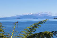 Free Lake Taupo View, New Zealand Stock Images - 108208074