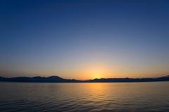 Lake Tazawa in Akita Stock Photos