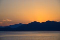 Lake Tazawa in Akita Stock Photo