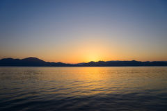 Lake Tazawa in Akita Royalty Free Stock Photo