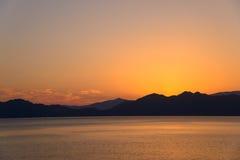 Lake Tazawa in Akita Stock Photography