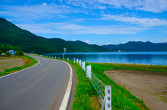 Lake Tazawa, Japan Stock Images