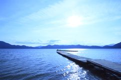 Lake Tazawa in summer Royalty Free Stock Images