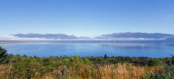 Lake Te Anau Stock Images