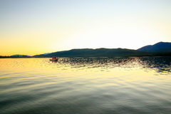 Lake Te Anau in New Zealand Royalty Free Stock Images