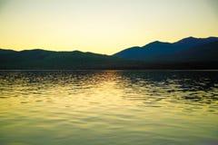 Lake Te Anau in New Zealand Royalty Free Stock Photography