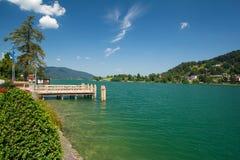 Lake Tegernsee in Bavaria Stock Image