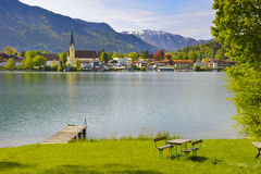Lake Tegernsee in Bavaria Stock Photos