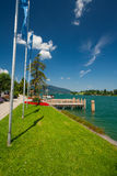 Lake Tegernsee near Rottach-Egern Stock Photos