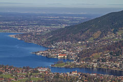 Lake Tegernsee in Upper Bavaria Stock Images