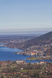 Lake Tegernsee in Upper Bavaria Royalty Free Stock Photo