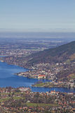 Lake Tegernsee in Upper Bavaria Stock Photography