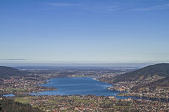 Lake Tegernsee in Upper Bavaria Royalty Free Stock Photography