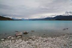 Lake Tekapo. South Island, New Zealand Royalty Free Stock Photography