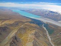 Lake Tekapo from above Stock Photography