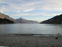 Lake Tekapo. Beautiful Nature surrounding Lake Tekapo, New Zealand royalty free stock photo