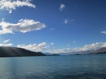 Lake Tekapo. Beautiful Nature surrounding Lake Tekapo, New Zealand stock images