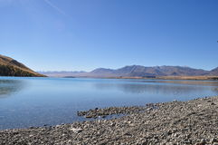 Lake Tekapo. Beautiful Nature surrounding Lake Tekapo, New Zealand royalty free stock photos