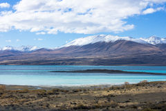Lake Tekapo Looking Towards Mount Dobson Royalty Free Stock Images