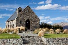 LAKE TEKAPO, MACKENZIE COUNTRY/NEW ZEALAND - FEBRUARY 23 : Churc Royalty Free Stock Images