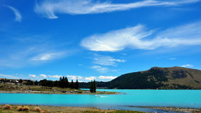 Lake Tekapo. New Zealand Stock Photos