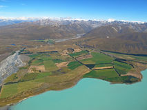 Lake Tekapo, New Zealand Stock Photos
