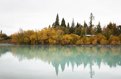 The Lake Tekapo Royalty Free Stock Photo