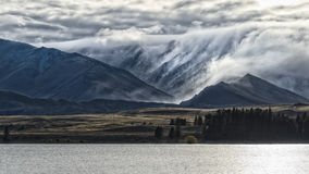 Lake Tekapo. In New Zealand Royalty Free Stock Photography