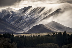 Lake Tekapo. In New Zealand Royalty Free Stock Photos