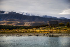 Lake Tekapo. In New Zealand Stock Photos