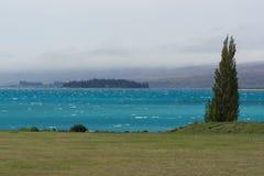 Lake Tekapo in New Zealand Royalty Free Stock Images